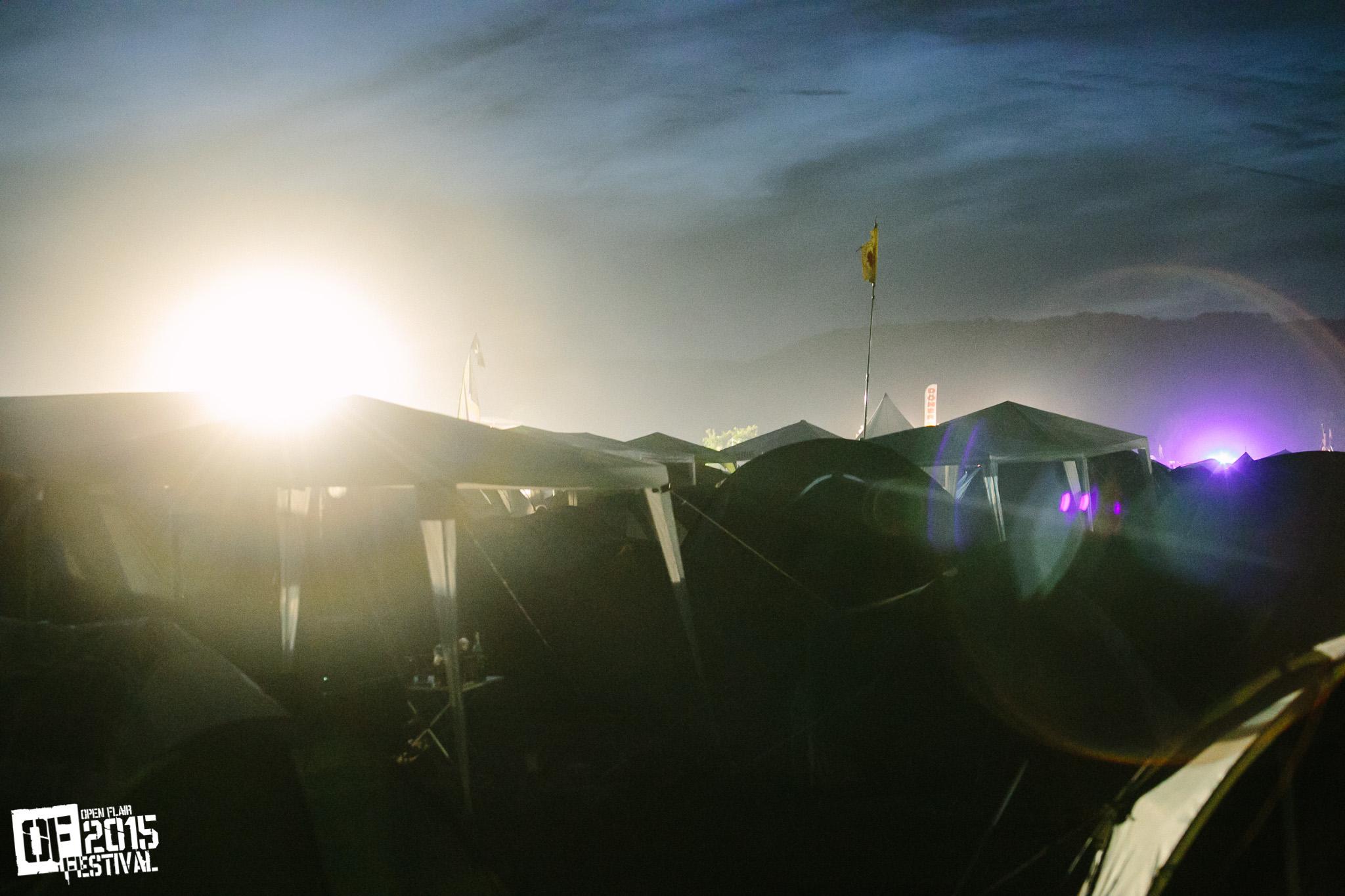 Campingplatz-Romance
