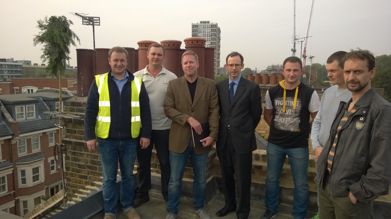Hugo Hardy Took this opportunity to say thank you to StemandAgate the contractors on the works in Battersea.