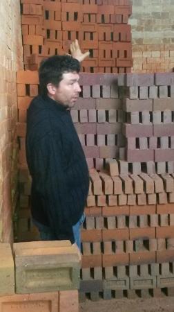 Jim Matthew's Explains firing a Scotch Kiln at the HG Matthews Brickyard