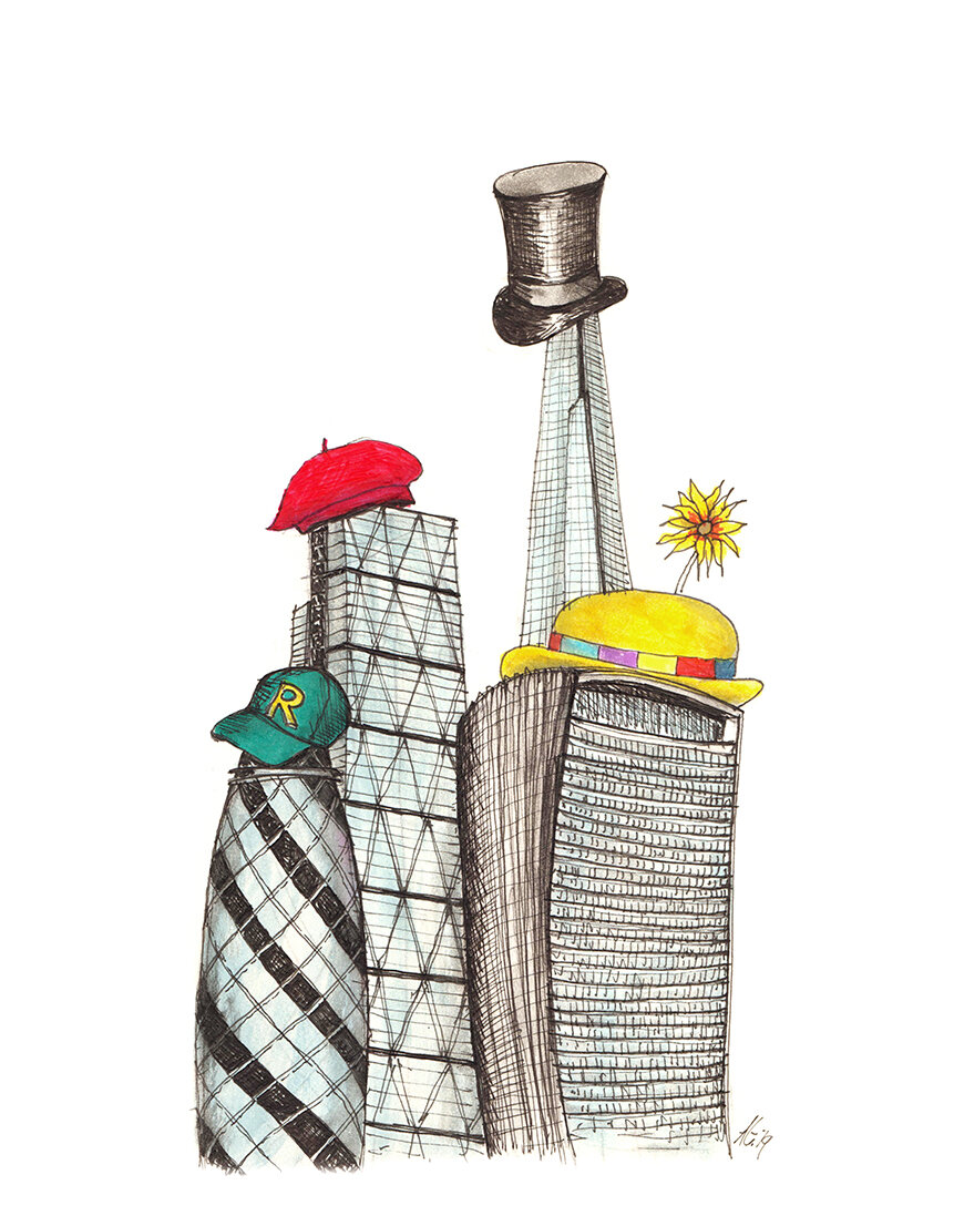 02.09.19 ... towers in hats