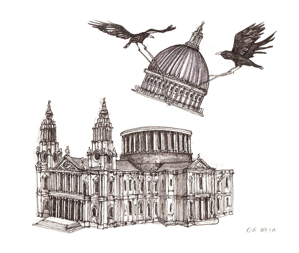 06.09.19 ... ravens of st pauls