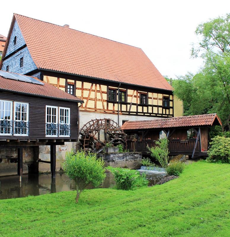 Hotel Restaurant Bergmühle Neudrossenfeld
