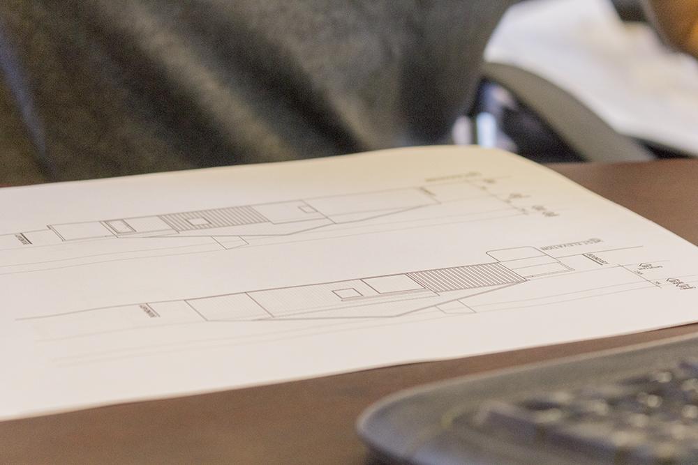 Delicious design development drawings.
