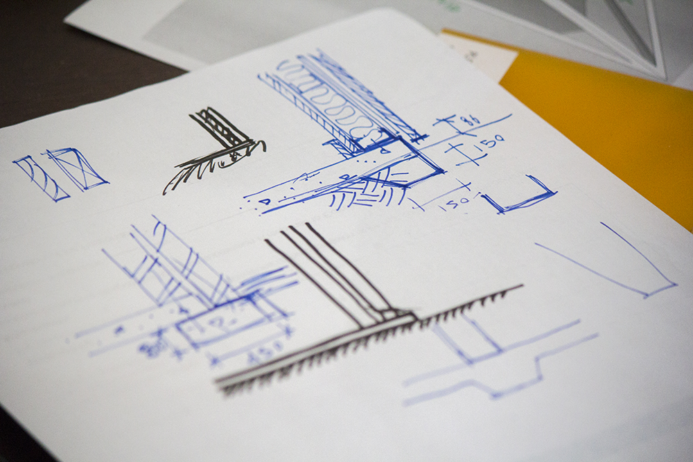 Lessons in diagrammatic drawing techniques.