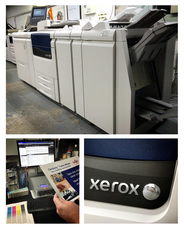 J75 Xerox printer
