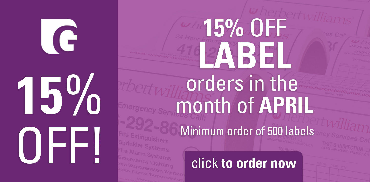 Labels on sale