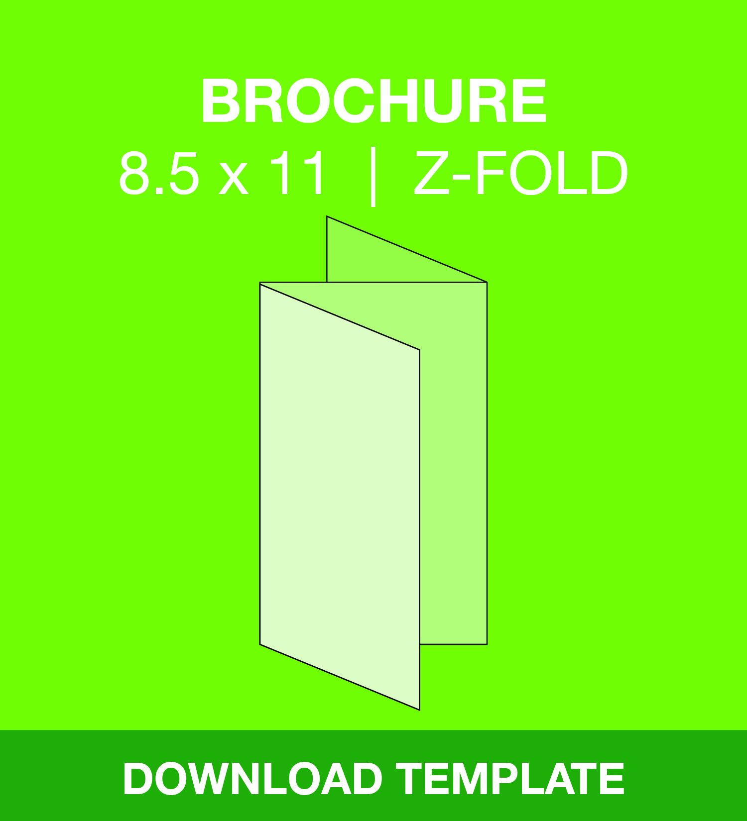 Brochure z fold