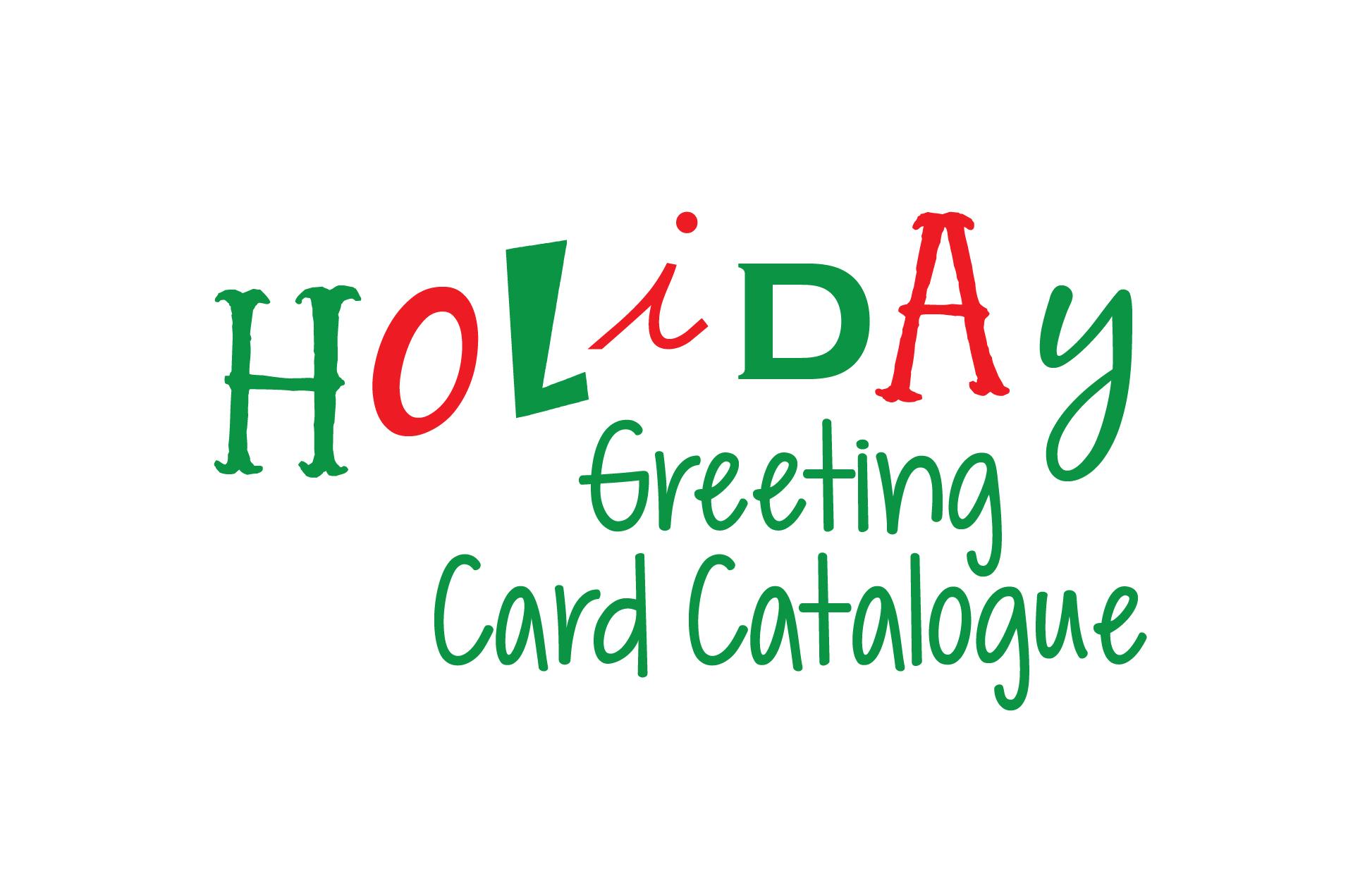 holiday greeting card catalogue