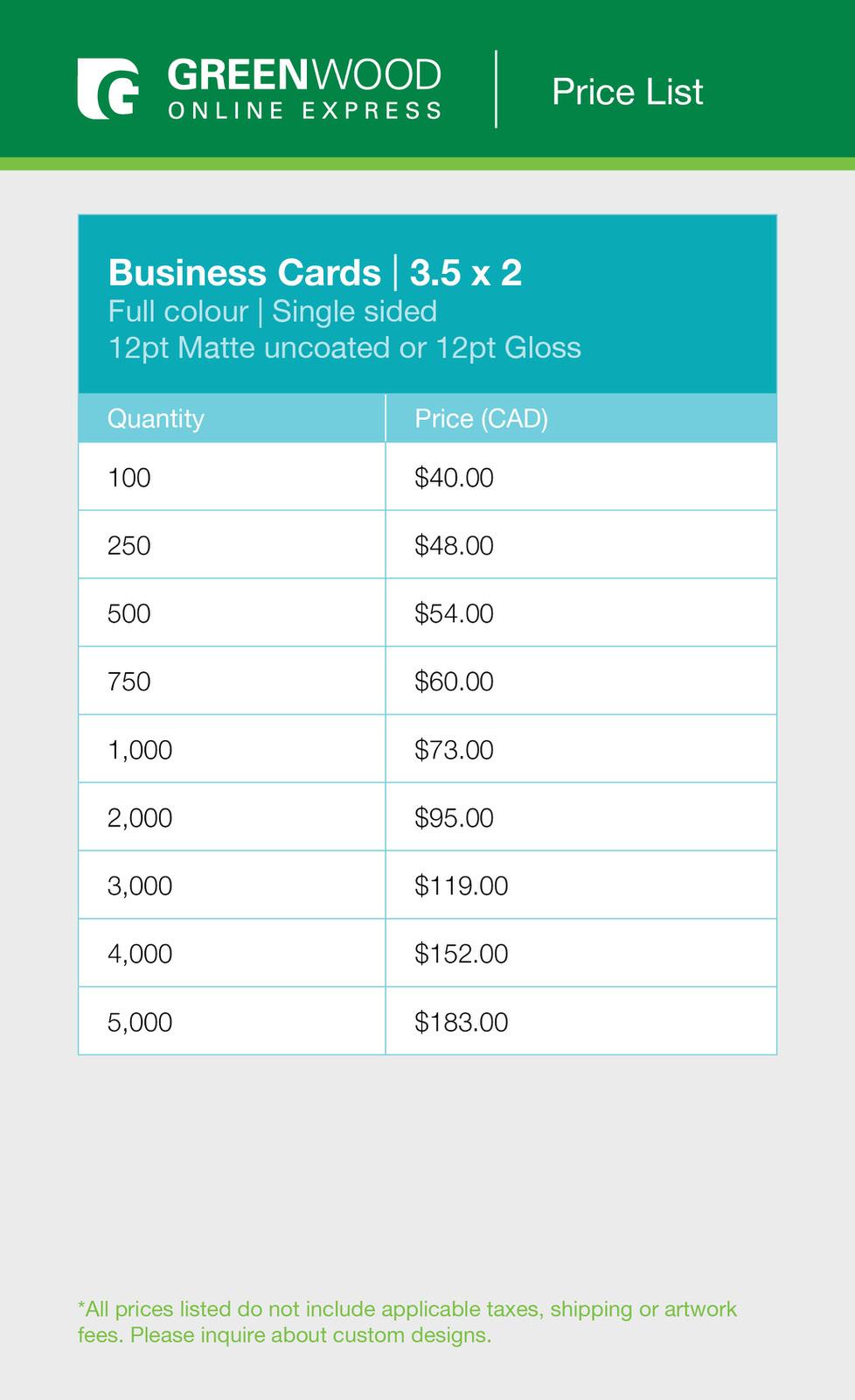 Greenwood bc colour single sided price list.jpg