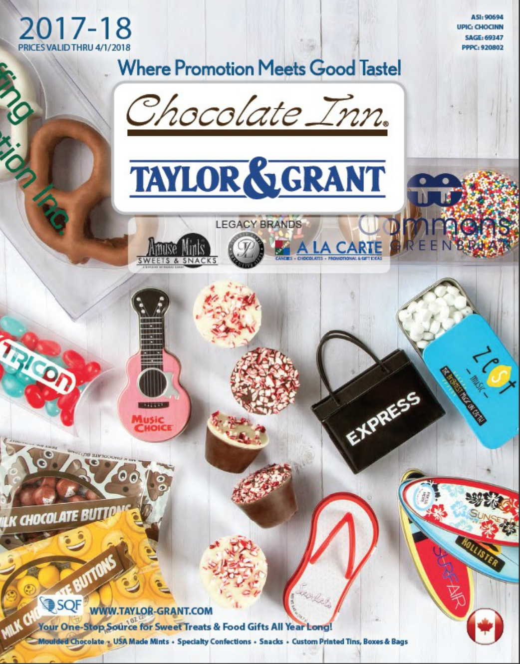 BRANDED CHOCOLATES & CANDIES