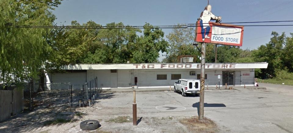 Project Site in Houston's Third Ward Neighborhood  (Google Maps screenshot)