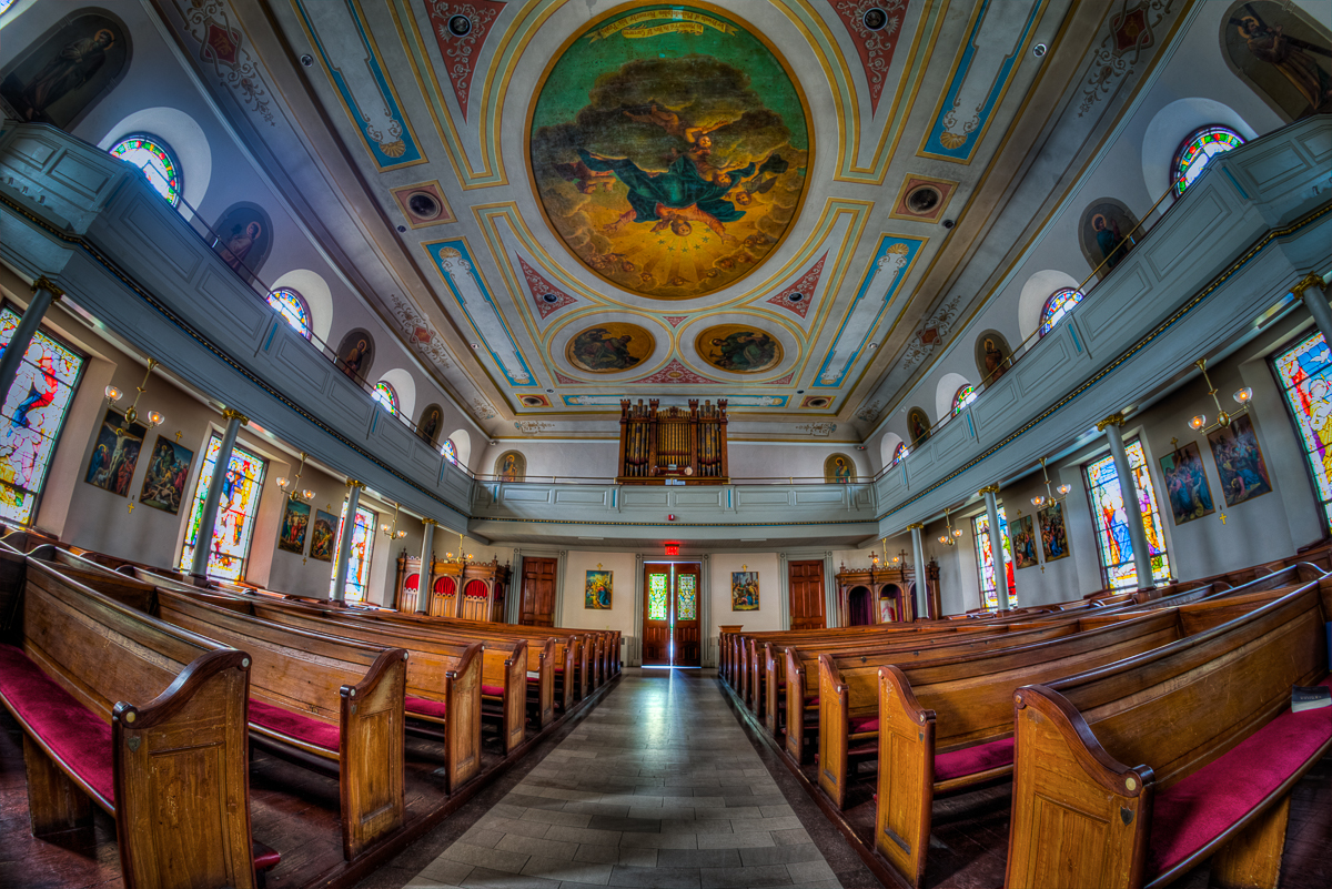 ISO 400, 12mm Fisheye, F/8, 5 bracketed shots for HDR