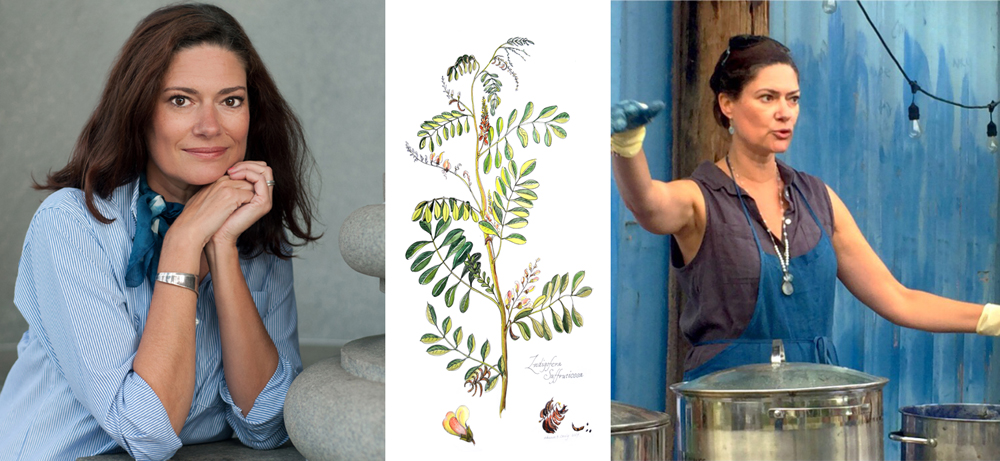 Caroline C Harper , Indigo Grower + Dyer + Designer + Educator