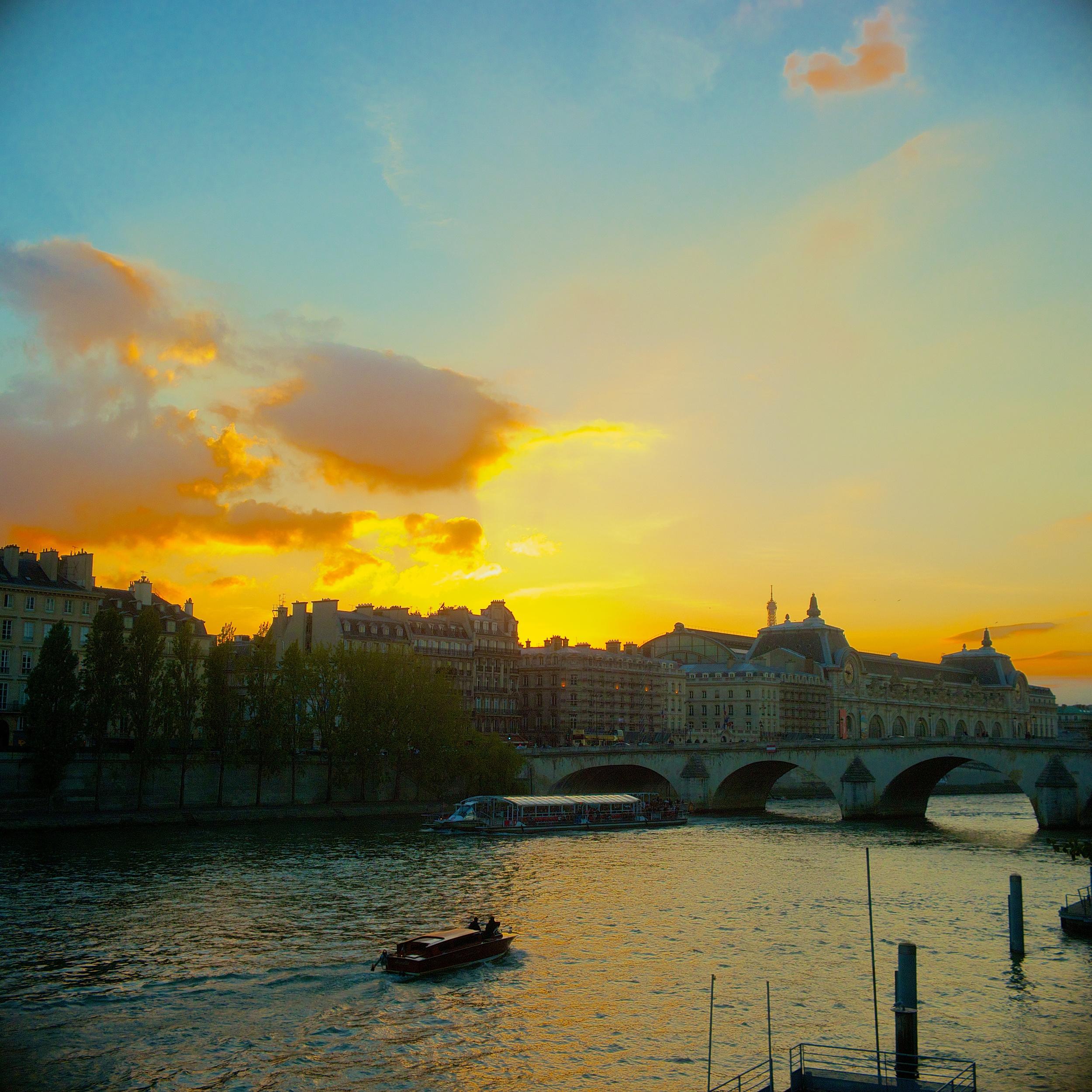 La Seine from Pont du Carrousel