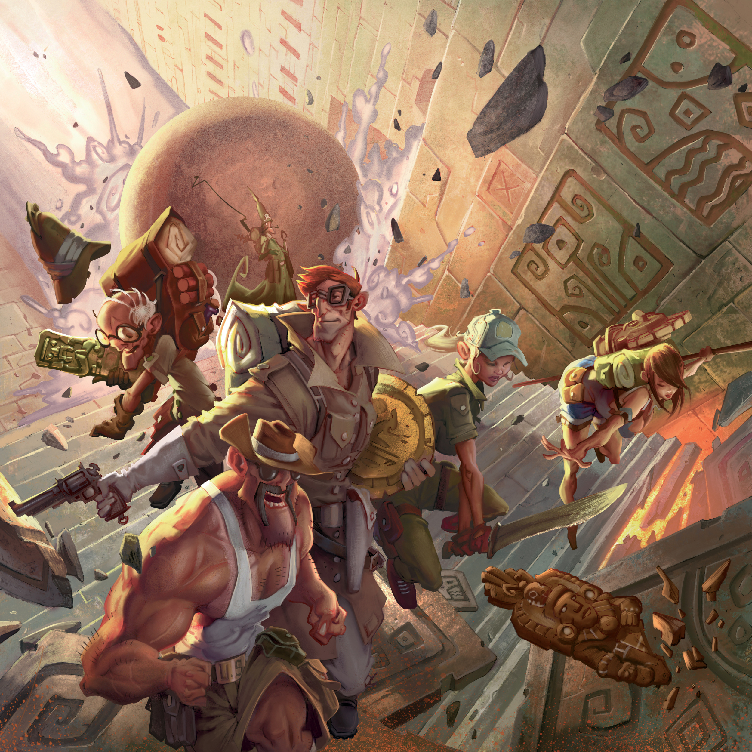 Dust Games |The Adventurers - The Temple of Chac | Edouard Guiton | Miguel Coimbra