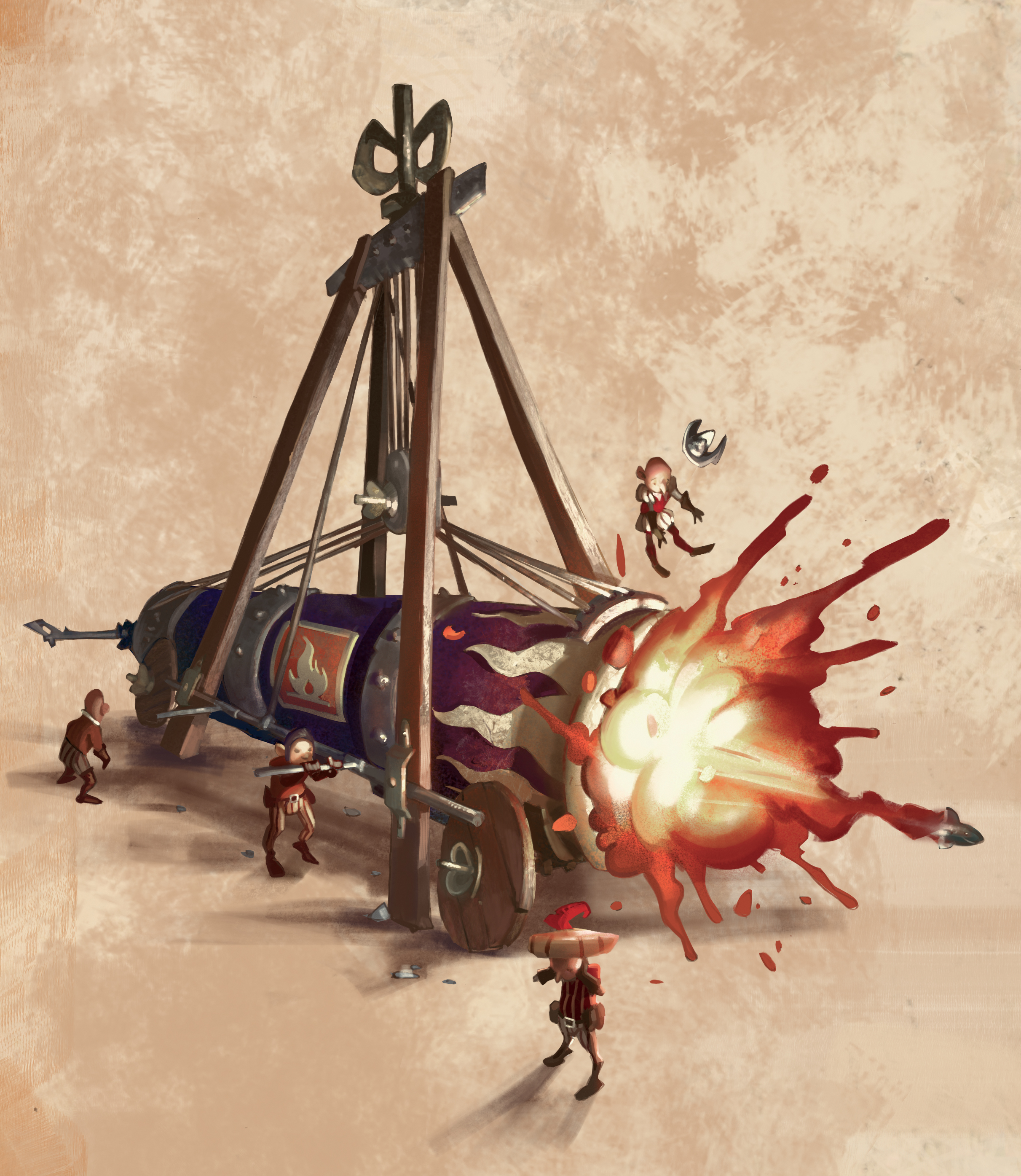Dust Games | Magnifico - Da Vinci's Art of War | Edouard Guiton | Miguel Coimbra