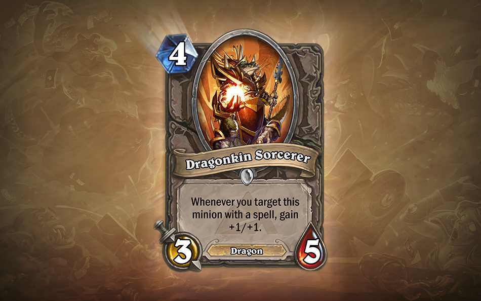 Blizzard Entertainment | Hearthstone - Dragonkin Sorcerer | Edouard Guiton | Studio Hive