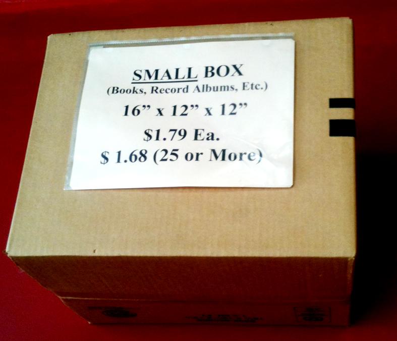 Small Box 16x12x12