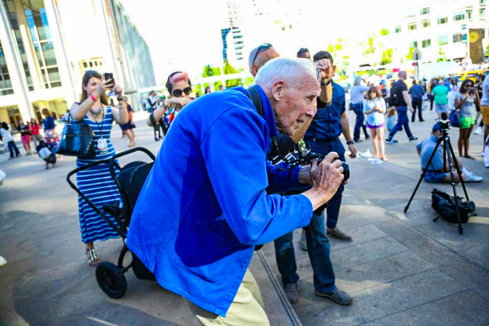 Bill Cunningham. Photo by Whitney S Williams