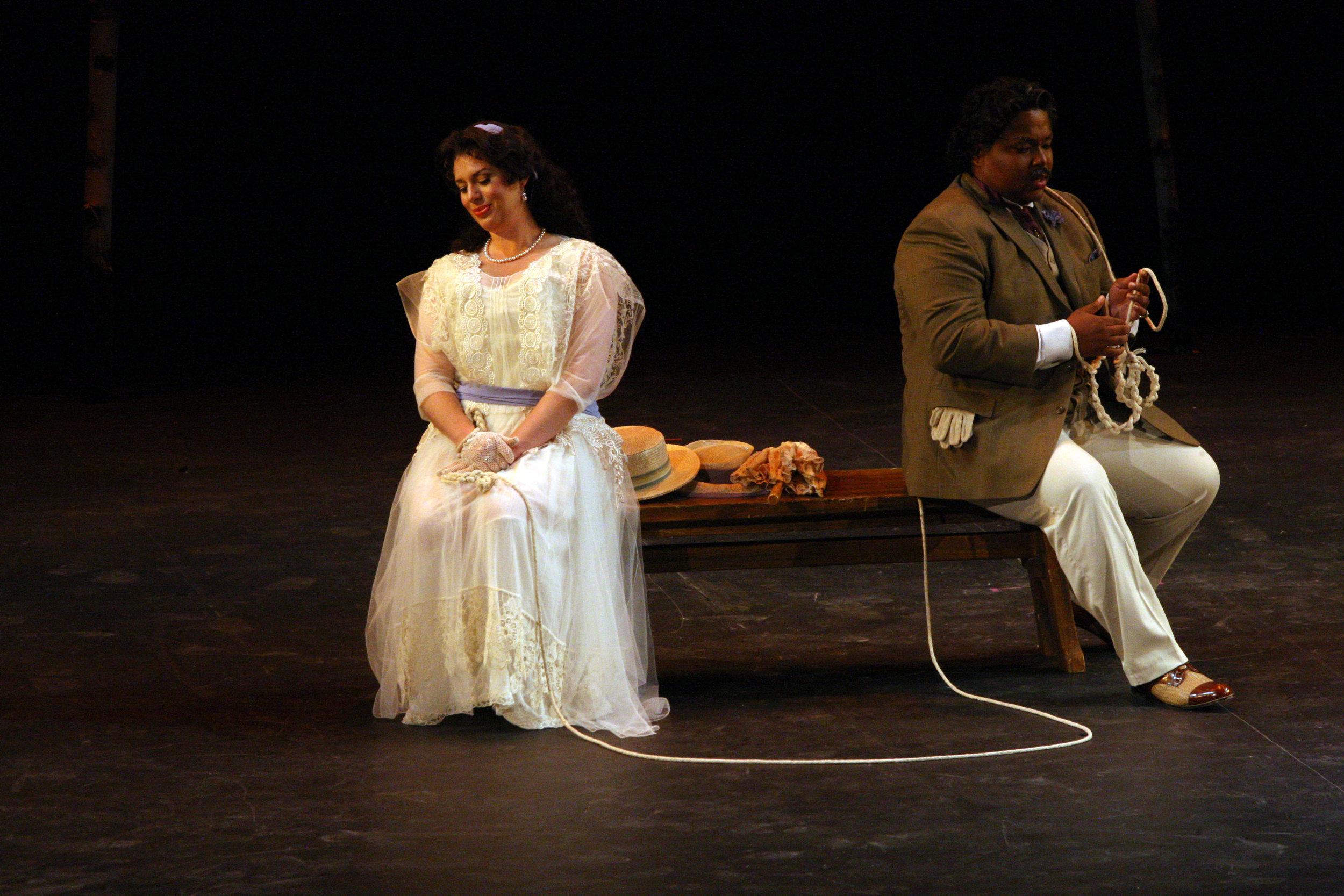 As Isabella in Rossini's L'italiana in Algeri