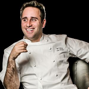 Lee Woolen  Chef of Boka