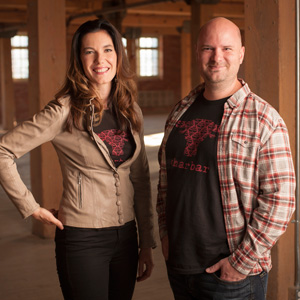 Connie DeSousa and John Jackson  Co-Chefs CHARCUT Roast House