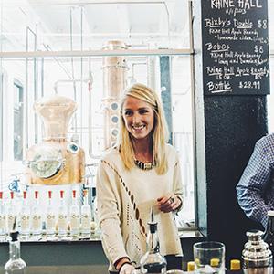 Jenny Solberg  Co-owner Rhine Hall Distillery