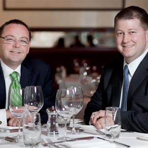 David Flom & Matt Moore  Managing Partners of Chicago Cut Steakhouse