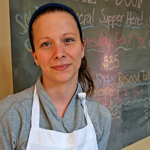 Sandra Holl  Pastry Chef of Floriole Cafe & Bakery