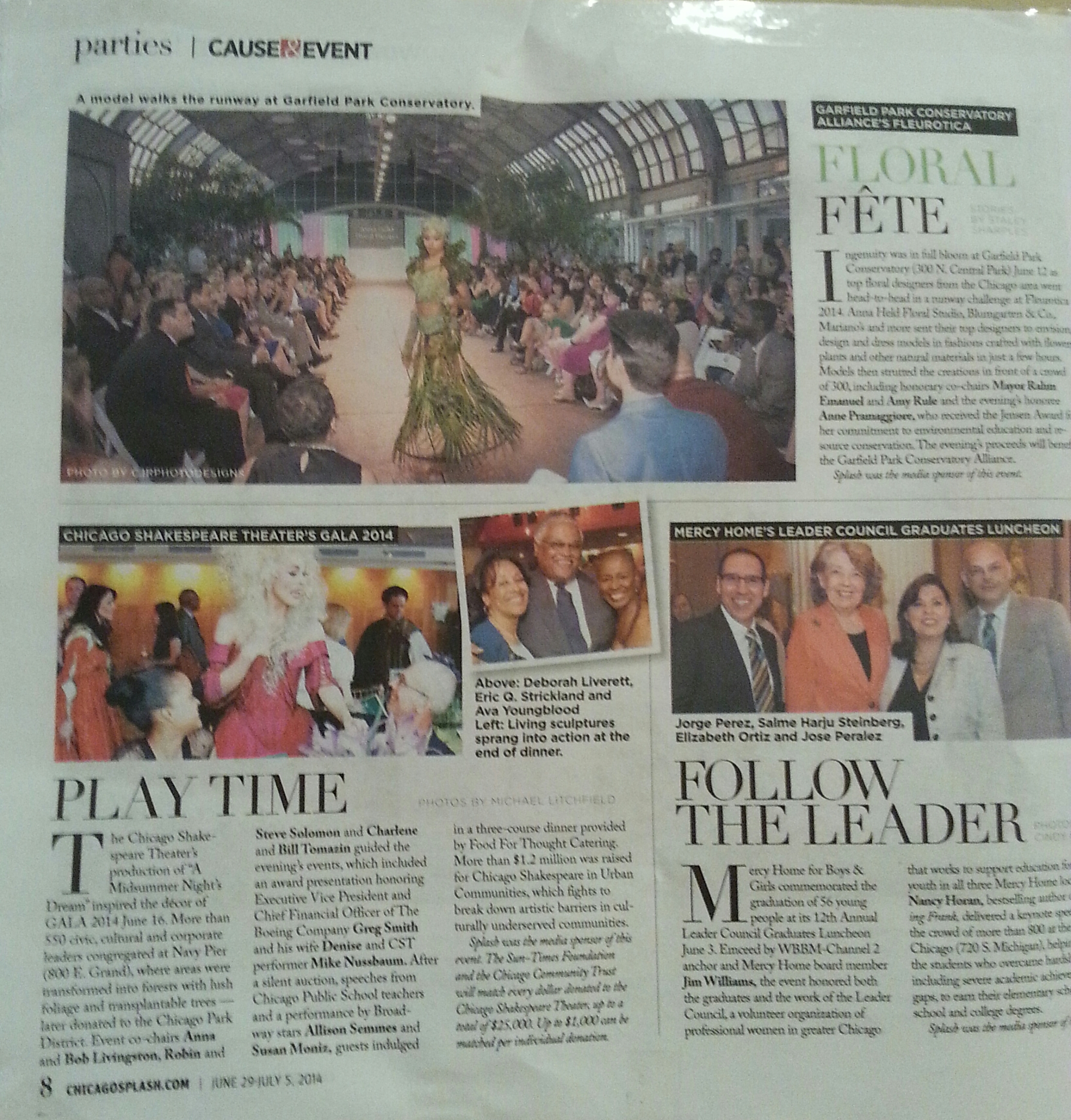 More Fleurotica2014 Coverage from Chicago Splash