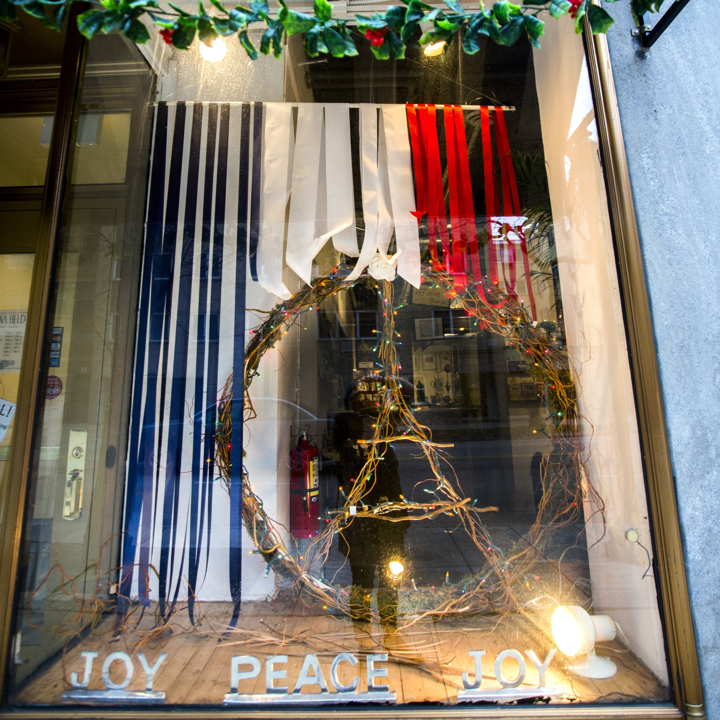 It took a little wrangling, but our latest window installation is all about peace.