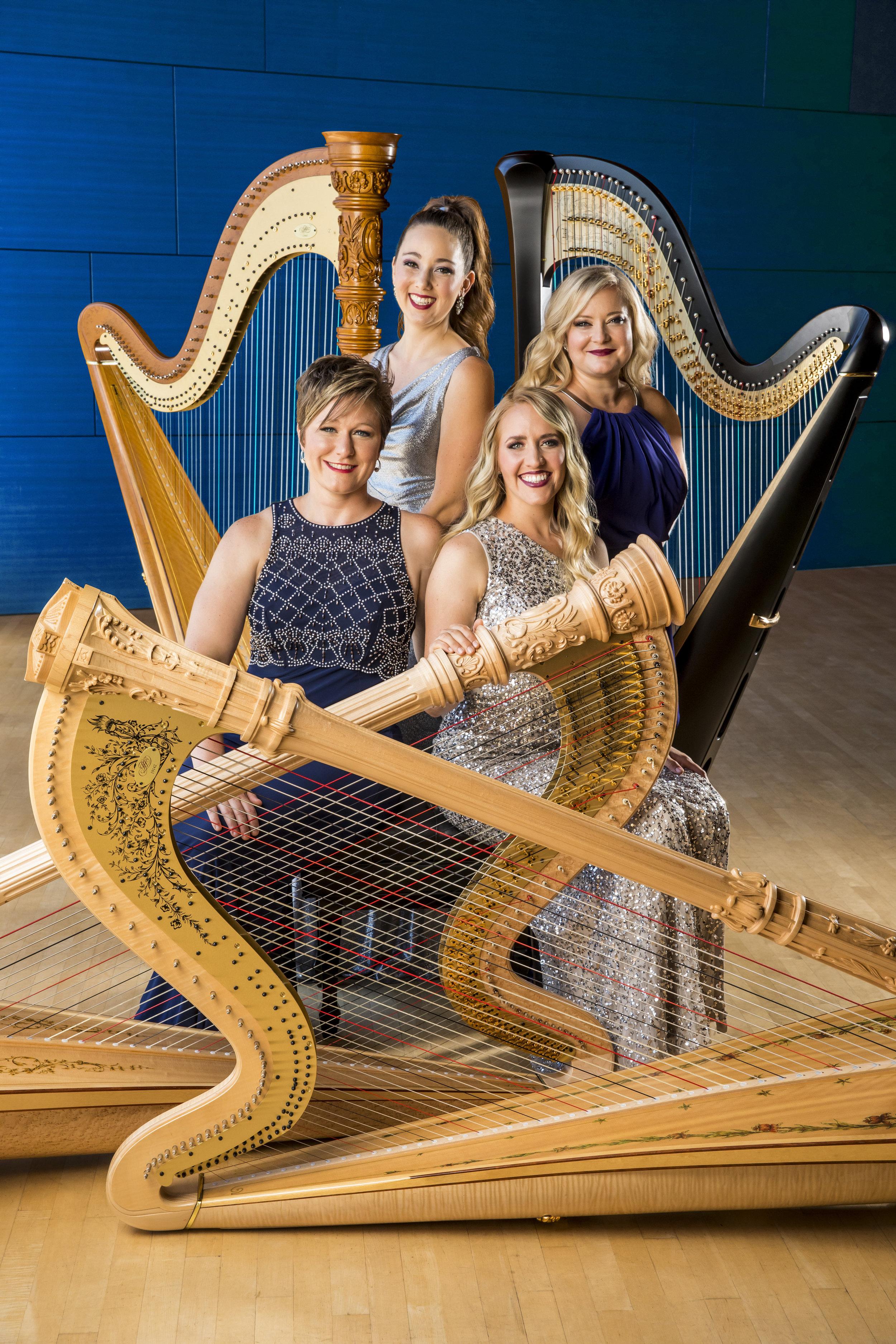Left to right: Julie Spring, Catherine Litaker, Emily Granger, Marguerite Lynn Williams (photo by Todd Rosenberg)