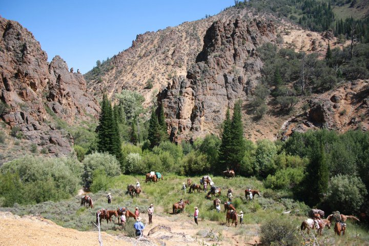 Cottonwood Guest Ranch Horseback Riding