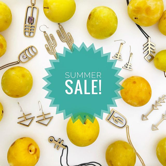 It's happening people!! In honor of my maternity leave, the first ever summer lovin' sale starts TODAY!  For the month of August get 30% off plus free shipping with code: BABYMAKING at checkout. Enjoy & share with your friends 😄☀️🍋🌼 Since I can't attend any shows this summer I want to make sure these jewels find amazing homes!! 😘😘😘