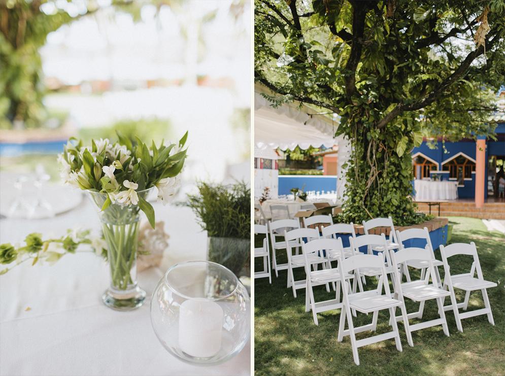 Nicaragua wedding decoration