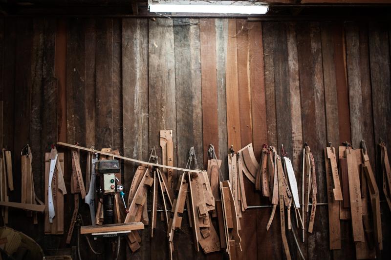 Nicaragua wood workshop