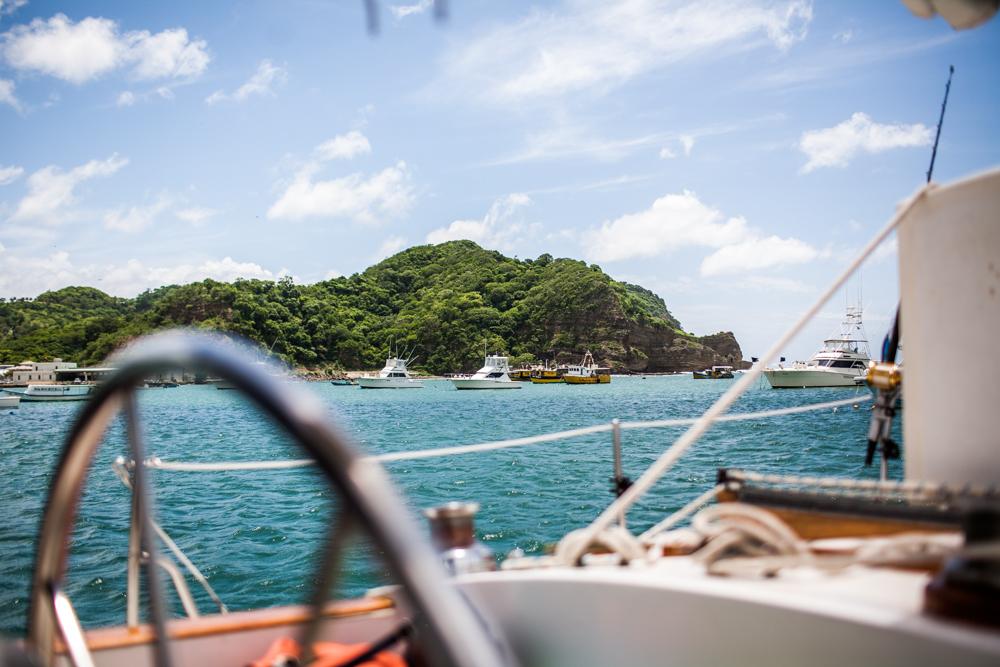 Viewof San Juan Bay from a boat