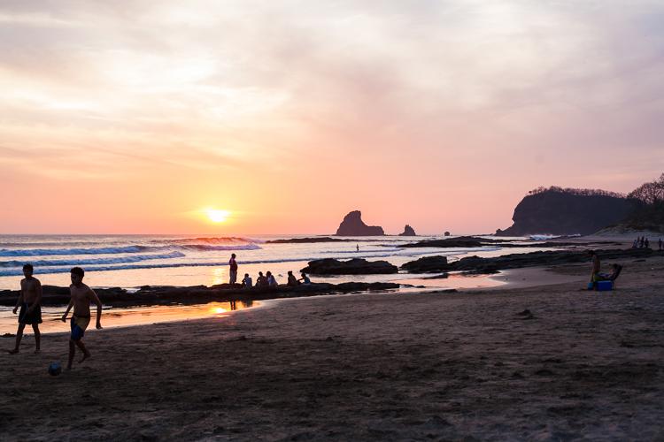 Maderas beach, a perfect surf spot