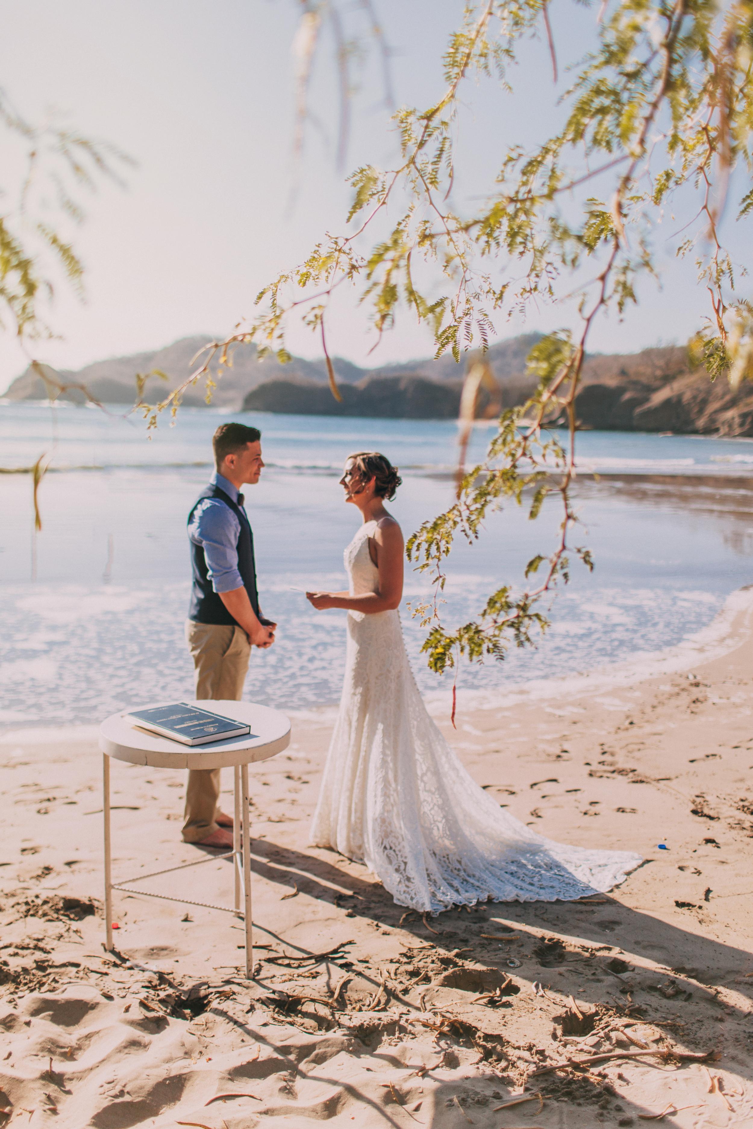 Nicaragua elopement wedding
