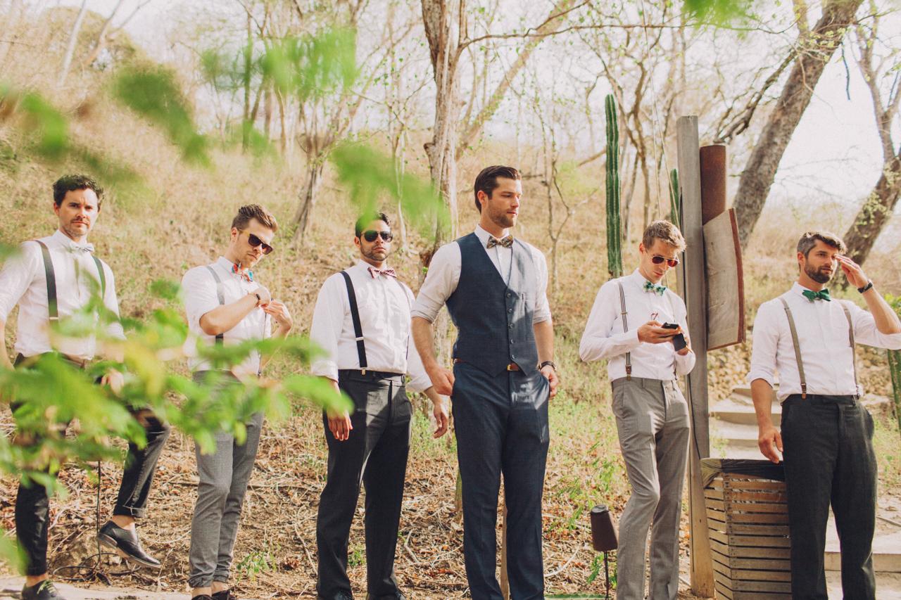 guys nicaragua wedding
