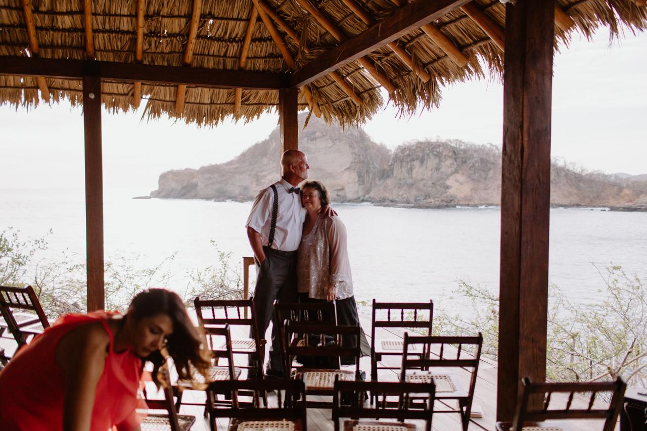 aqua wedding nicaragua