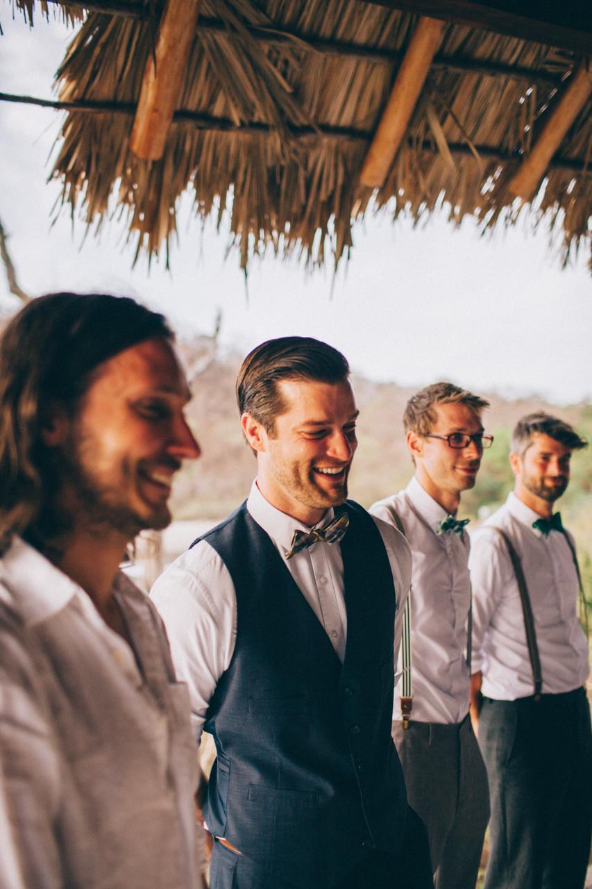 wedding photography Nicaragua groom