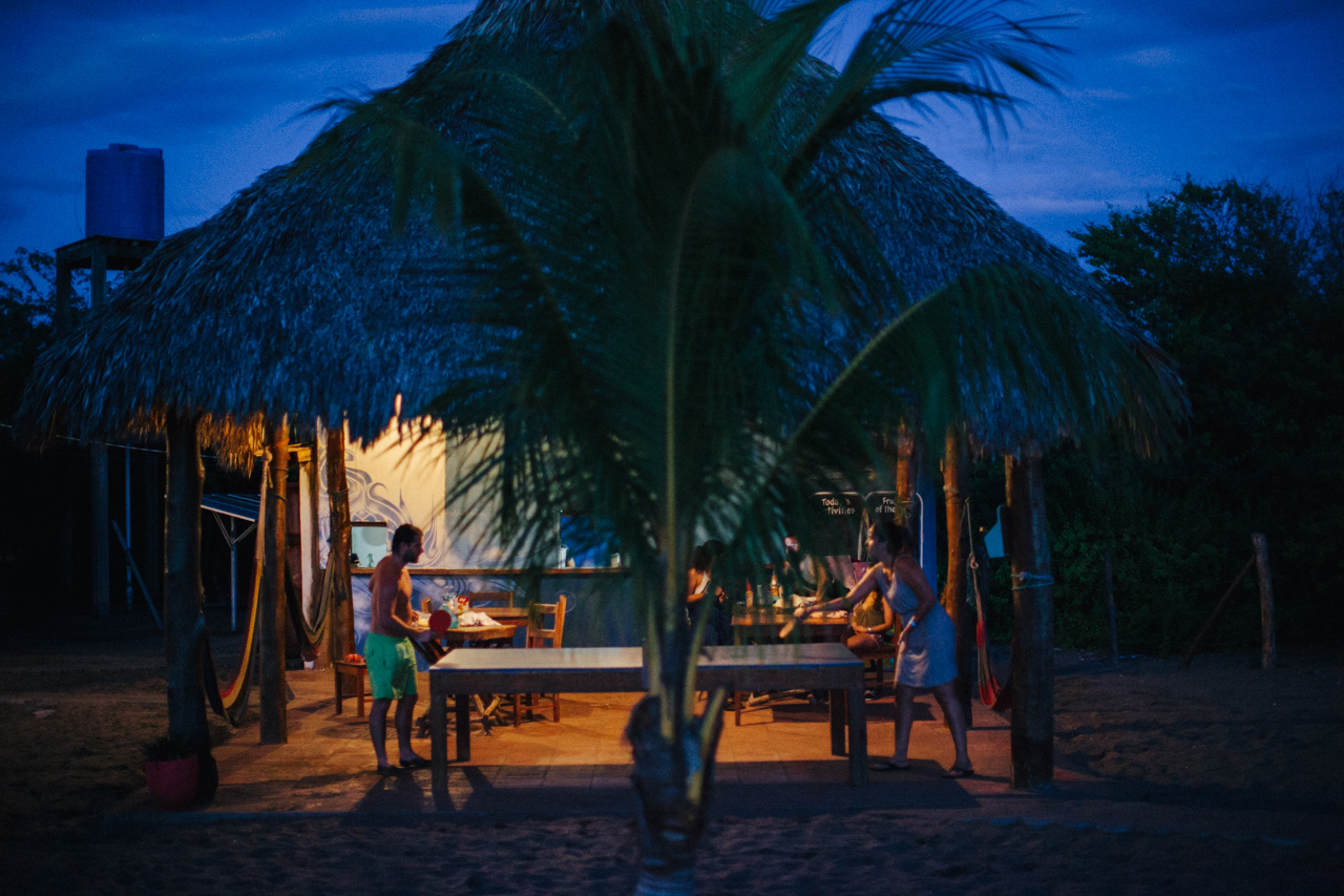 Tropical Ping-Pong