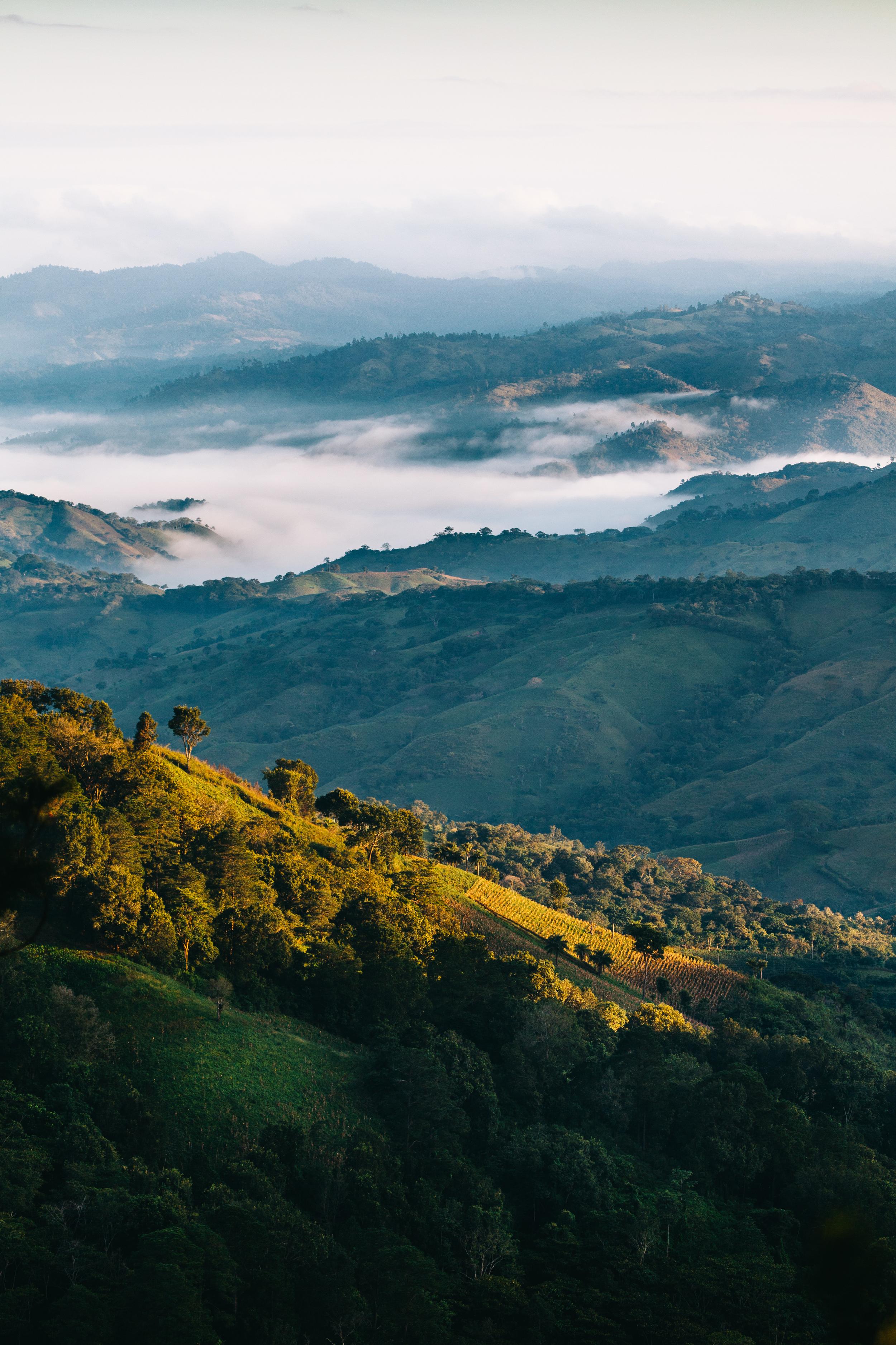Nicaragua mountains