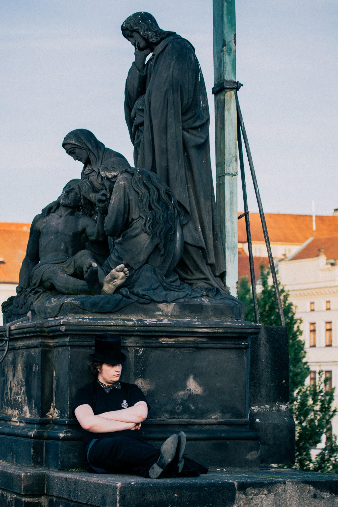 Prague monument