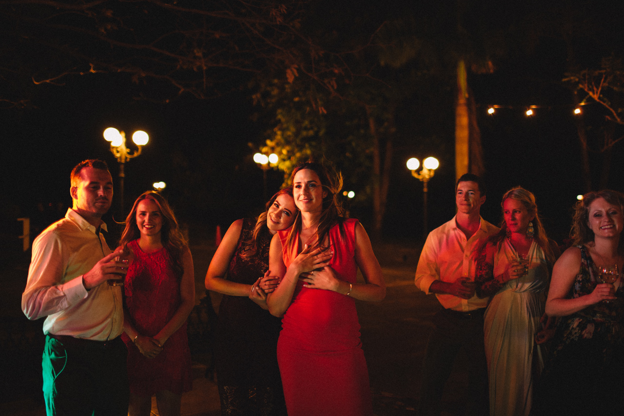 love nicaragua wedding party