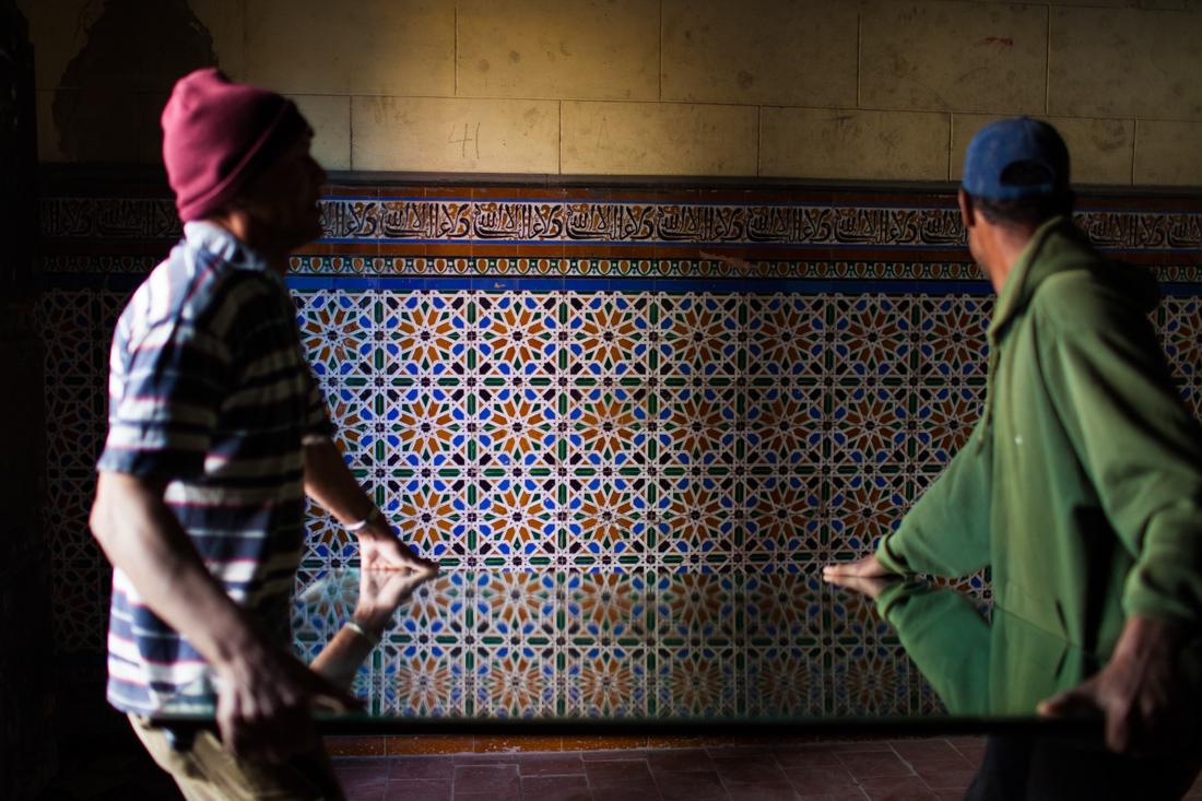 Patterns staircase Havana Cuba