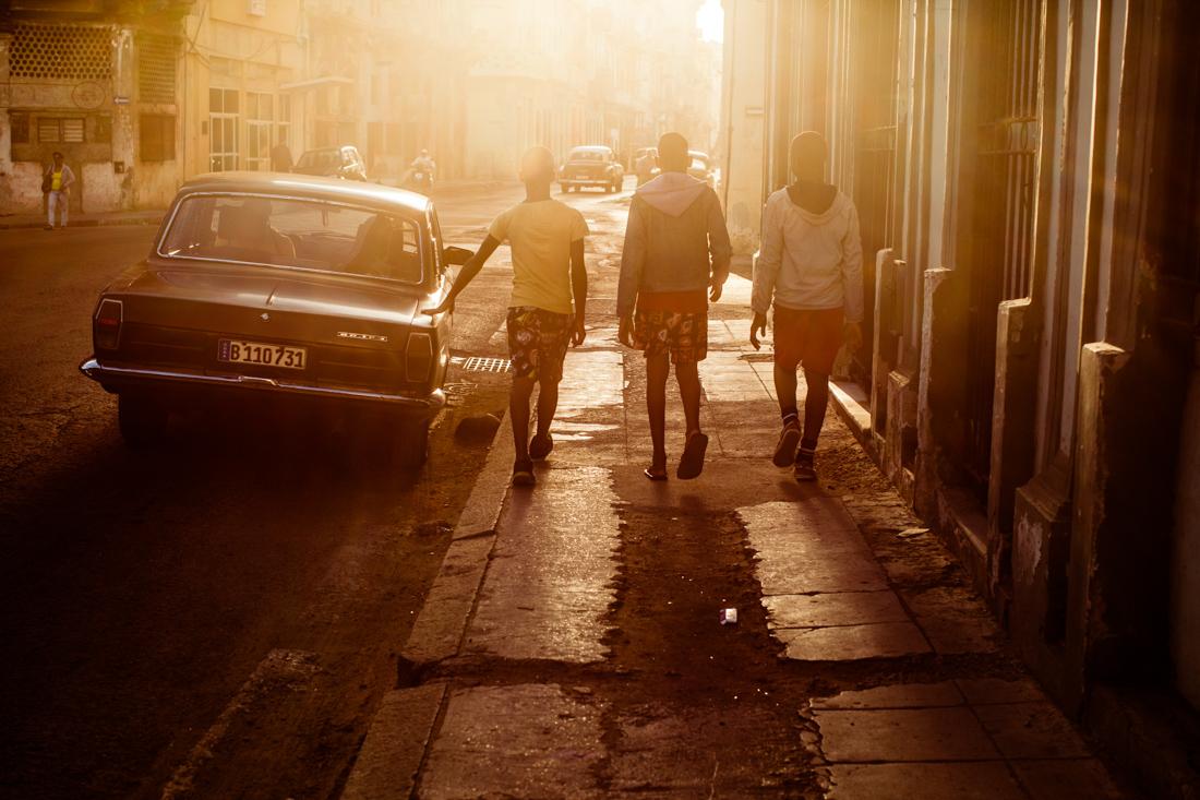 Cuba street walk
