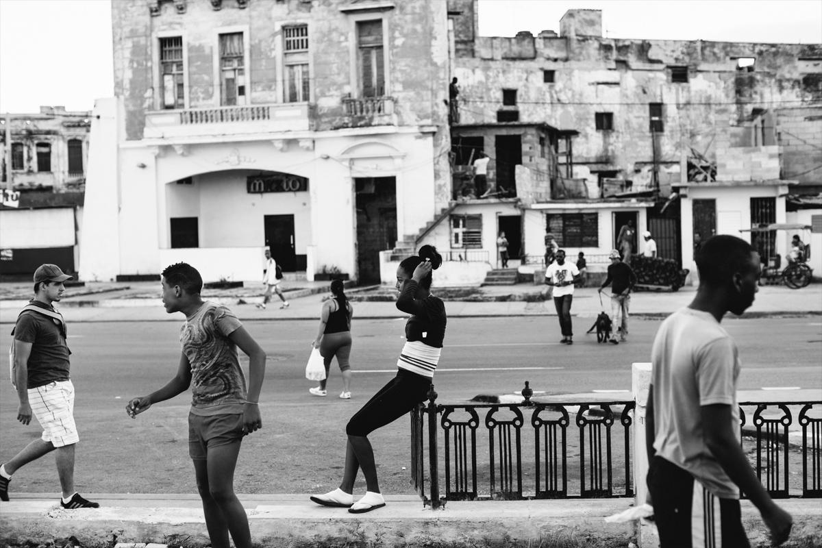 habana centro street life