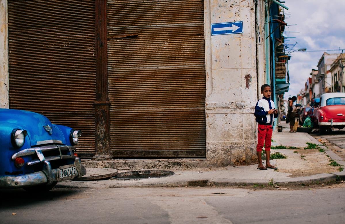 Havana centro photography car